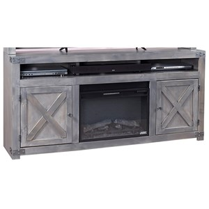 "Highland Court Rayleen 72"" Fireplace Console"