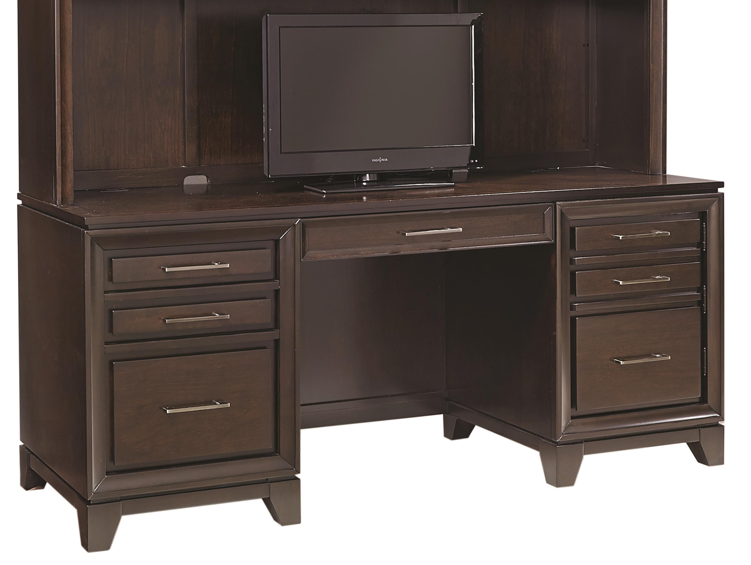 "Aspenhome Viewscape 66"" Double Pedestal Credenza - Item Number: I73-316"