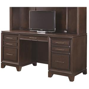 "Aspenhome Viewscape 72"" Double Pedestal Credenza"