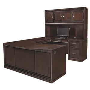 Morris Home Furnishings Viewscape U Desk