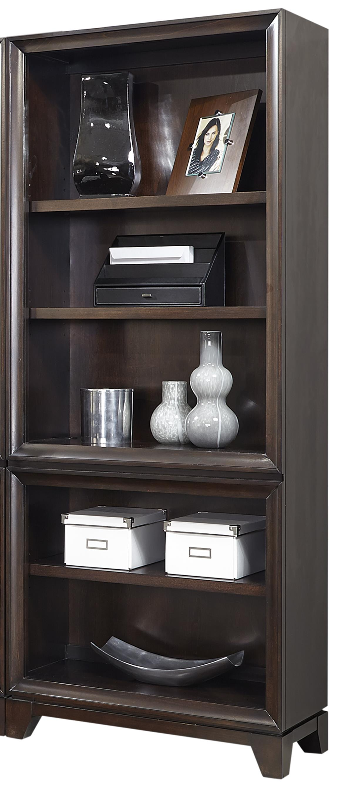 Aspenhome Viewscape Open Bookcase  - Item Number: I73-333