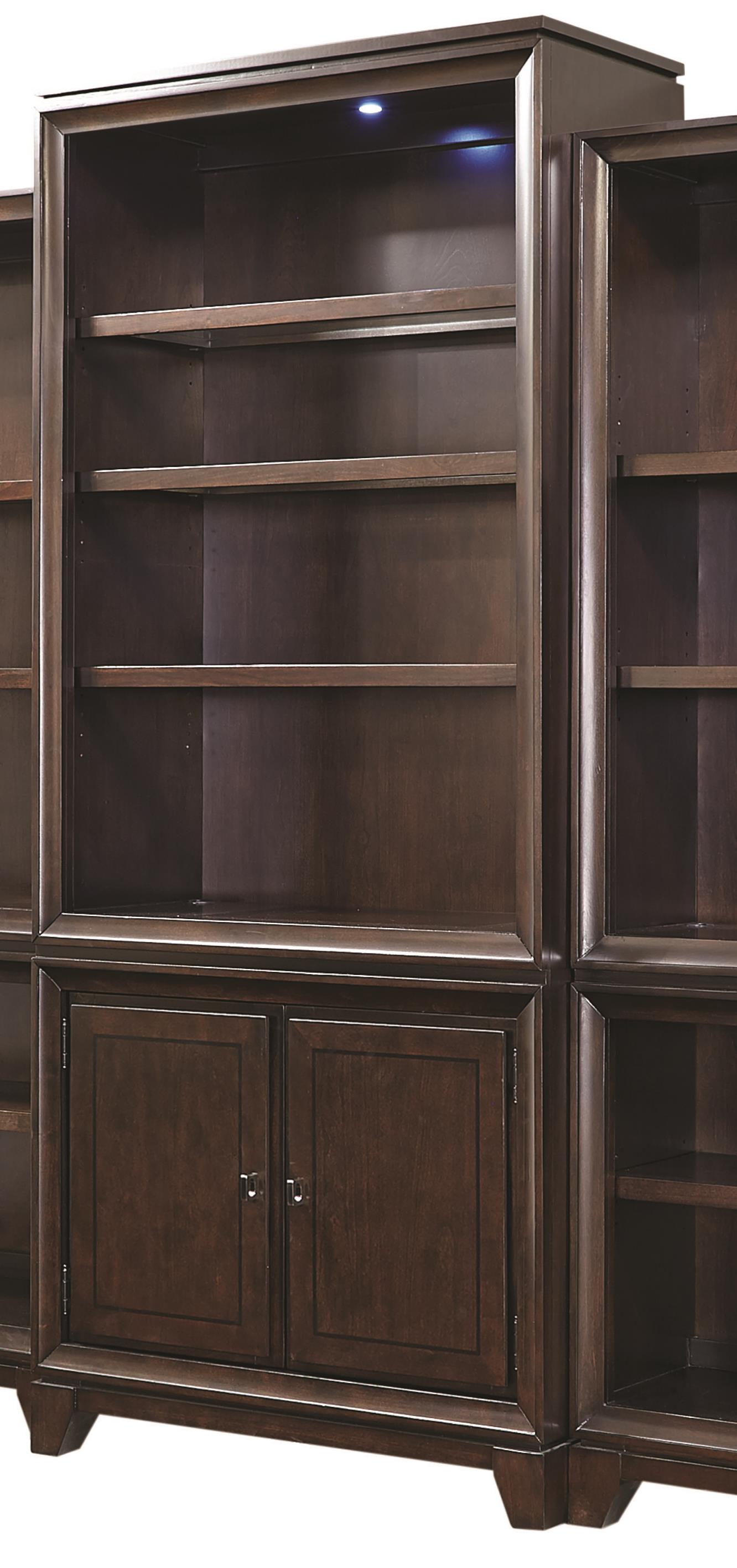 "Aspenhome Viewscape 84"" Door Bookcase  - Item Number: I73-336"
