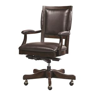 Morris Home Furnishings Viewscape Bonded Leather Arm Chair