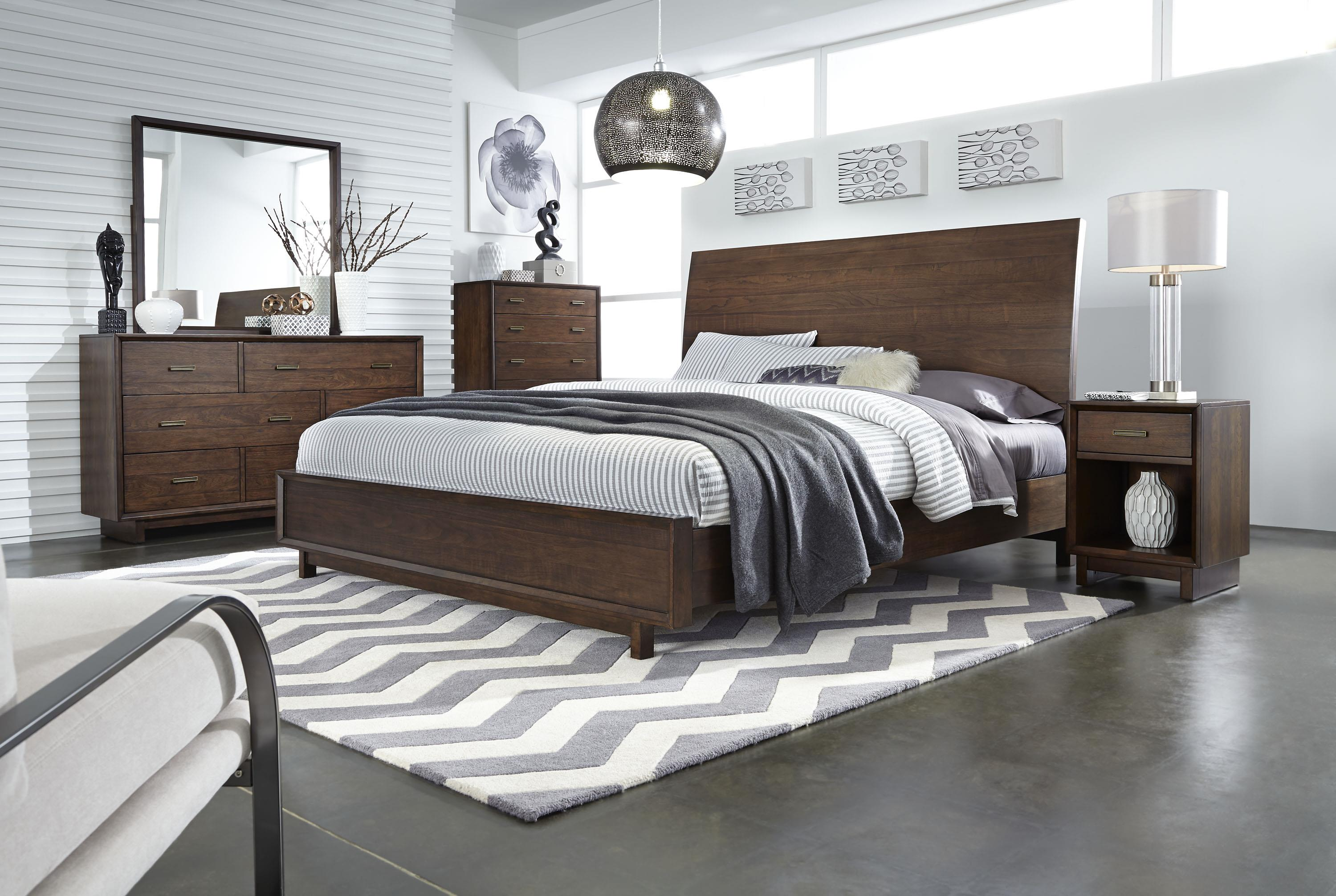 Aspenhome Walnut Heights California King Bedroom Group 1 - Item Number: IWH CK Bedroom Group 1
