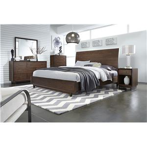 Morris Home Furnishings Walnut Heights Queen Bedroom Group 1