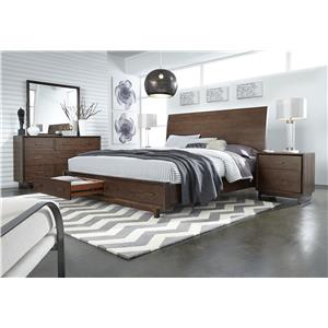 Morris Home Furnishings Walnut Heights Queen Bedroom Group 2