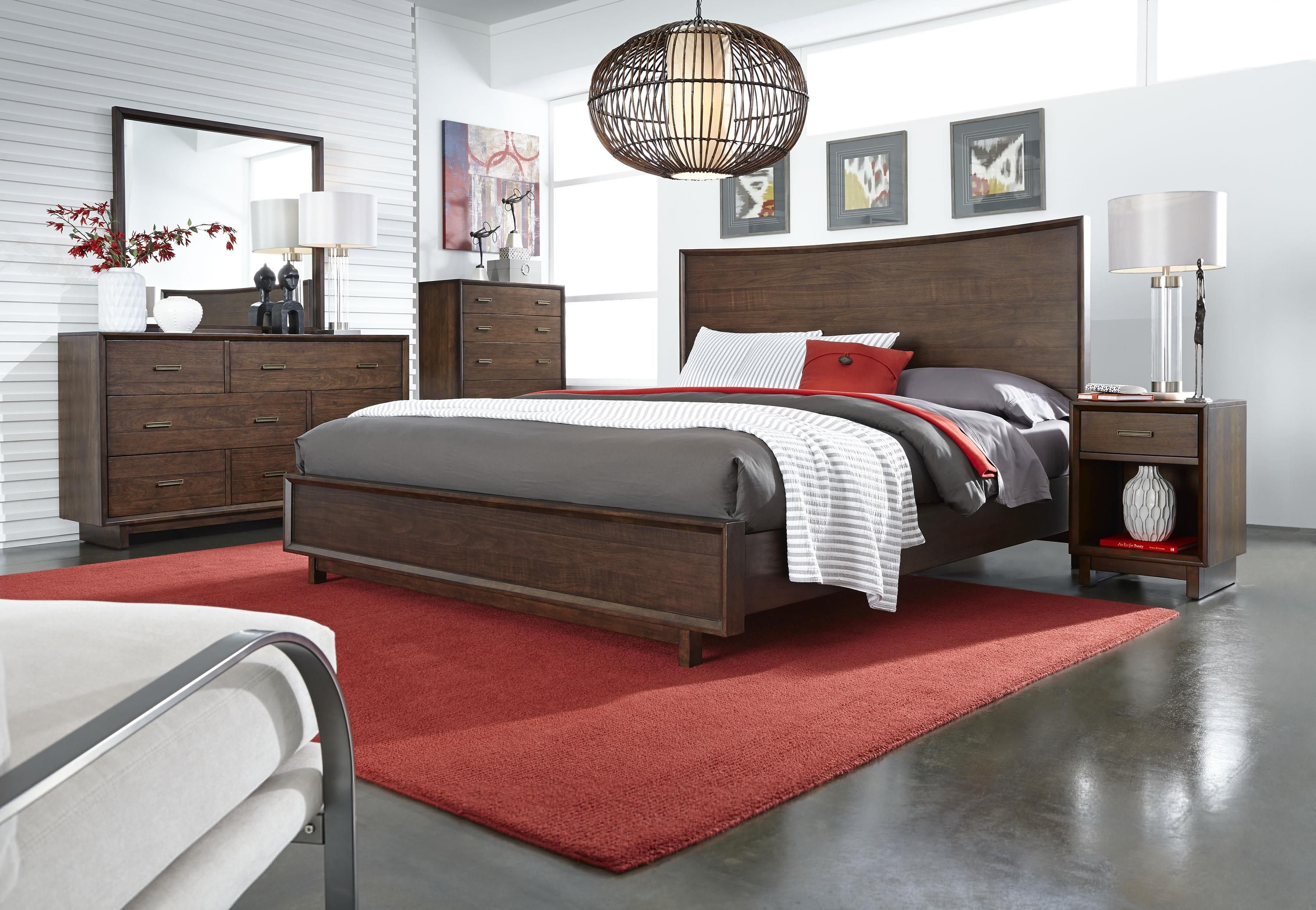Aspenhome Walnut Heights California King Bedroom Group 3 - Item Number: IWH CK Bedroom Group 3