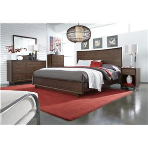 Aspenhome Walnut Heights Queen Bedroom Group 3