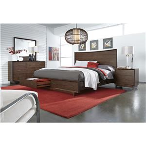 Aspenhome Walnut Heights King Bedroom Group 4