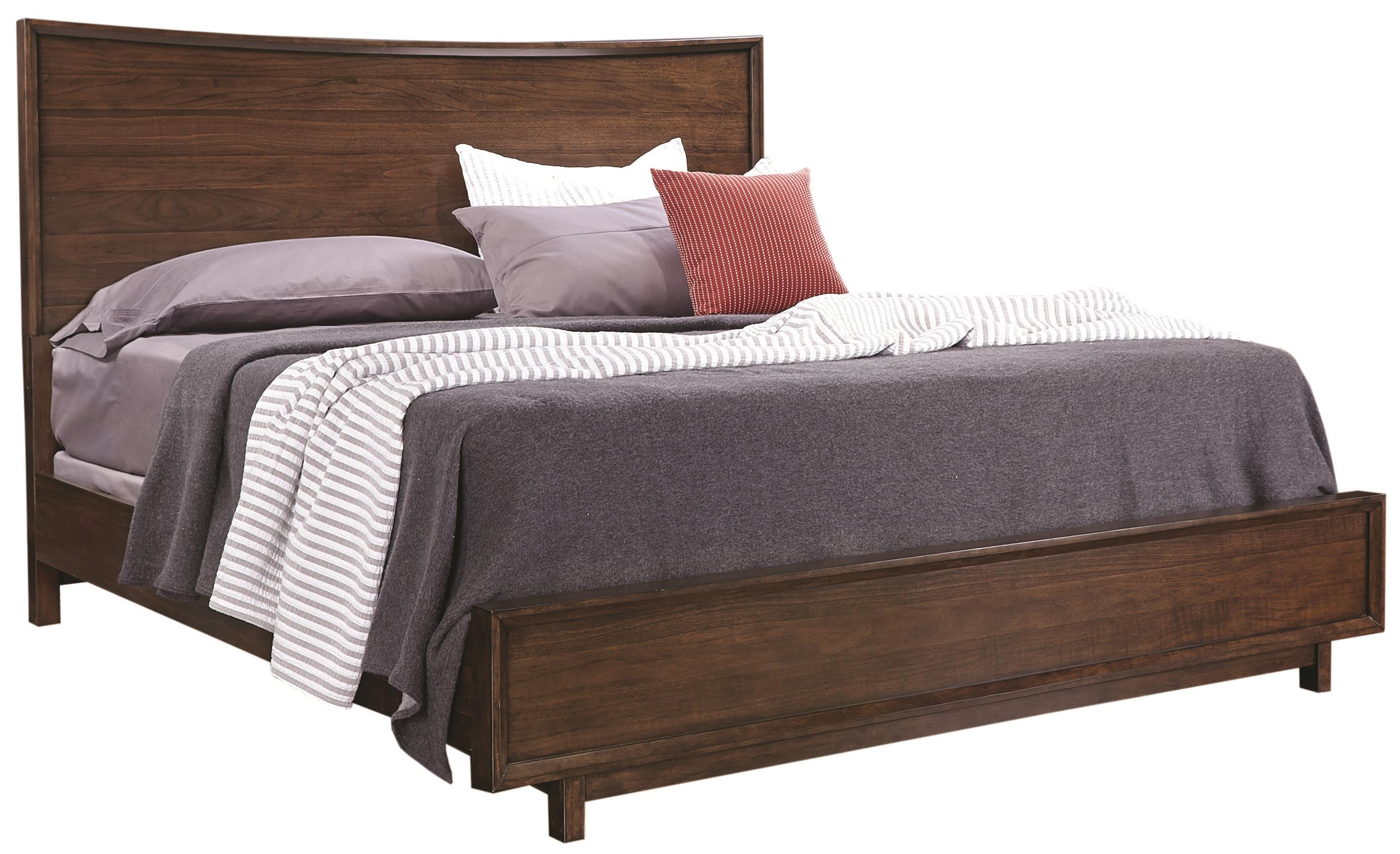 Aspenhome Walnut Heights California King Panel Bed - Item Number: IWH-415+407+410