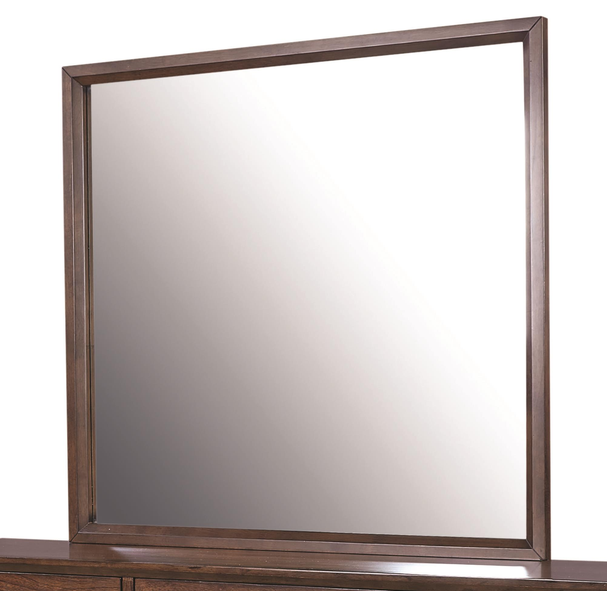 Aspenhome Walnut Heights Mirror  - Item Number: IWH-463