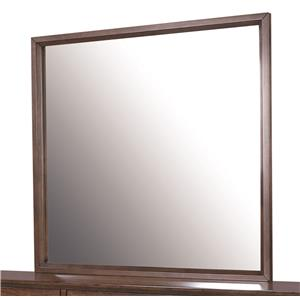 Morris Home Furnishings Walnut Heights Mirror