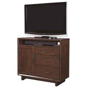 Morris Home Furnishings Walnut Heights Media Chest