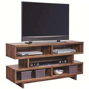 "Morris Home Furnishings Walnut Heights 60"" Open Console"