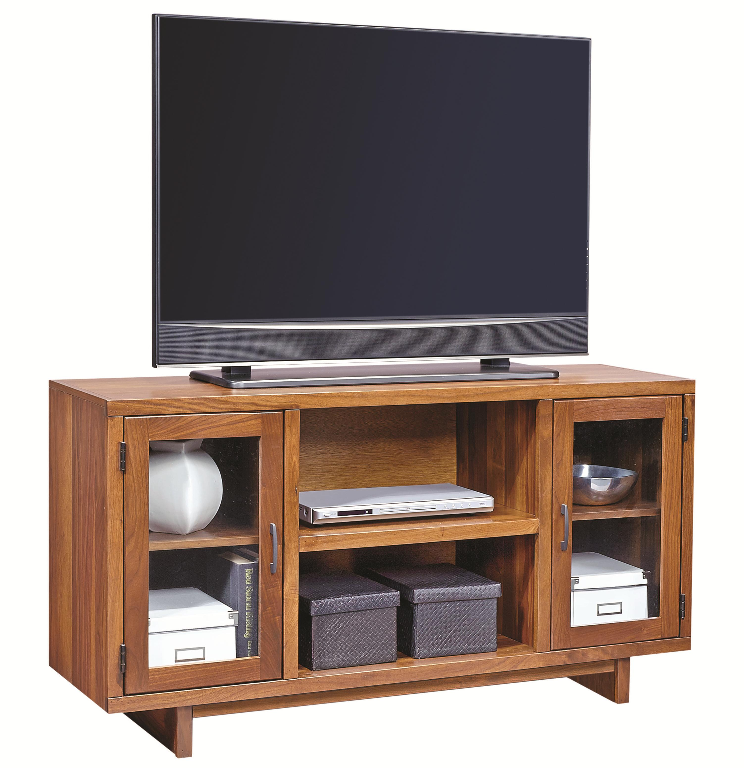 "Aspenhome Walnut Heights 55"" Console - Item Number: WH1055-AMB"