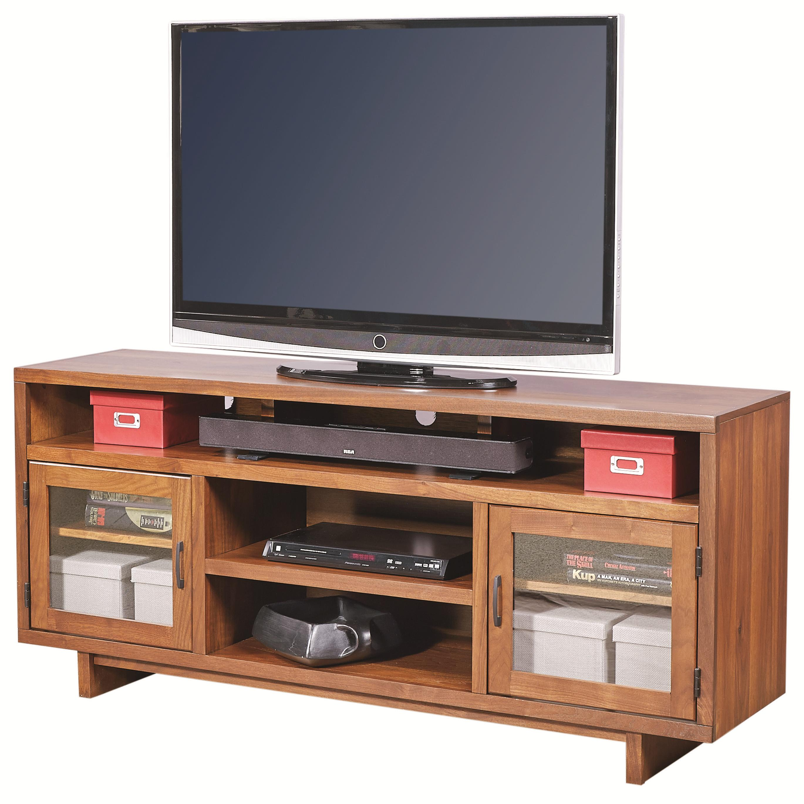 "Aspenhome Walnut Heights 65"" Console - Item Number: WH1065-AMB"