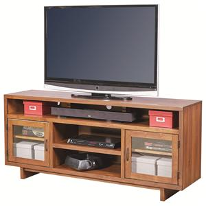 "Morris Home Furnishings Walnut Heights 65"" Console"