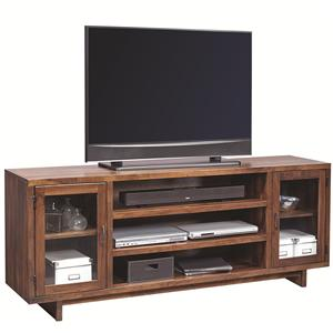 "Morris Home Furnishings Walnut Heights 74"" Console"