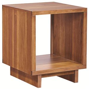 Morris Home Furnishings Walnut Heights End Table