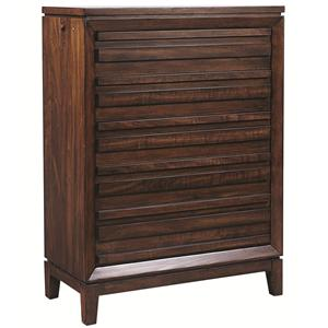 Aspenhome Walnut Park Chest