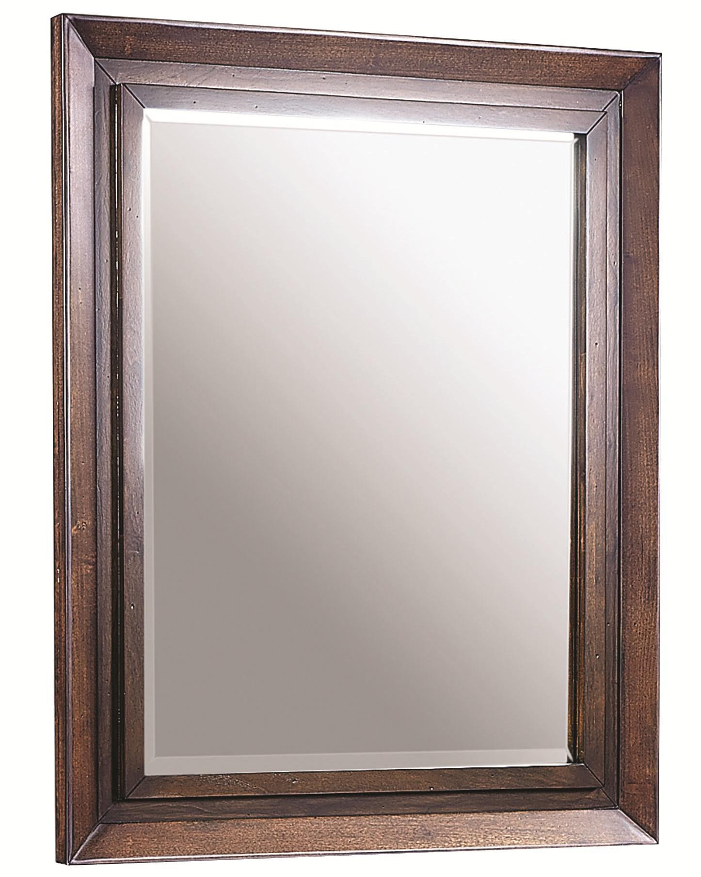 Aspenhome Walnut Park Landscape Mirror - Item Number: I05-462