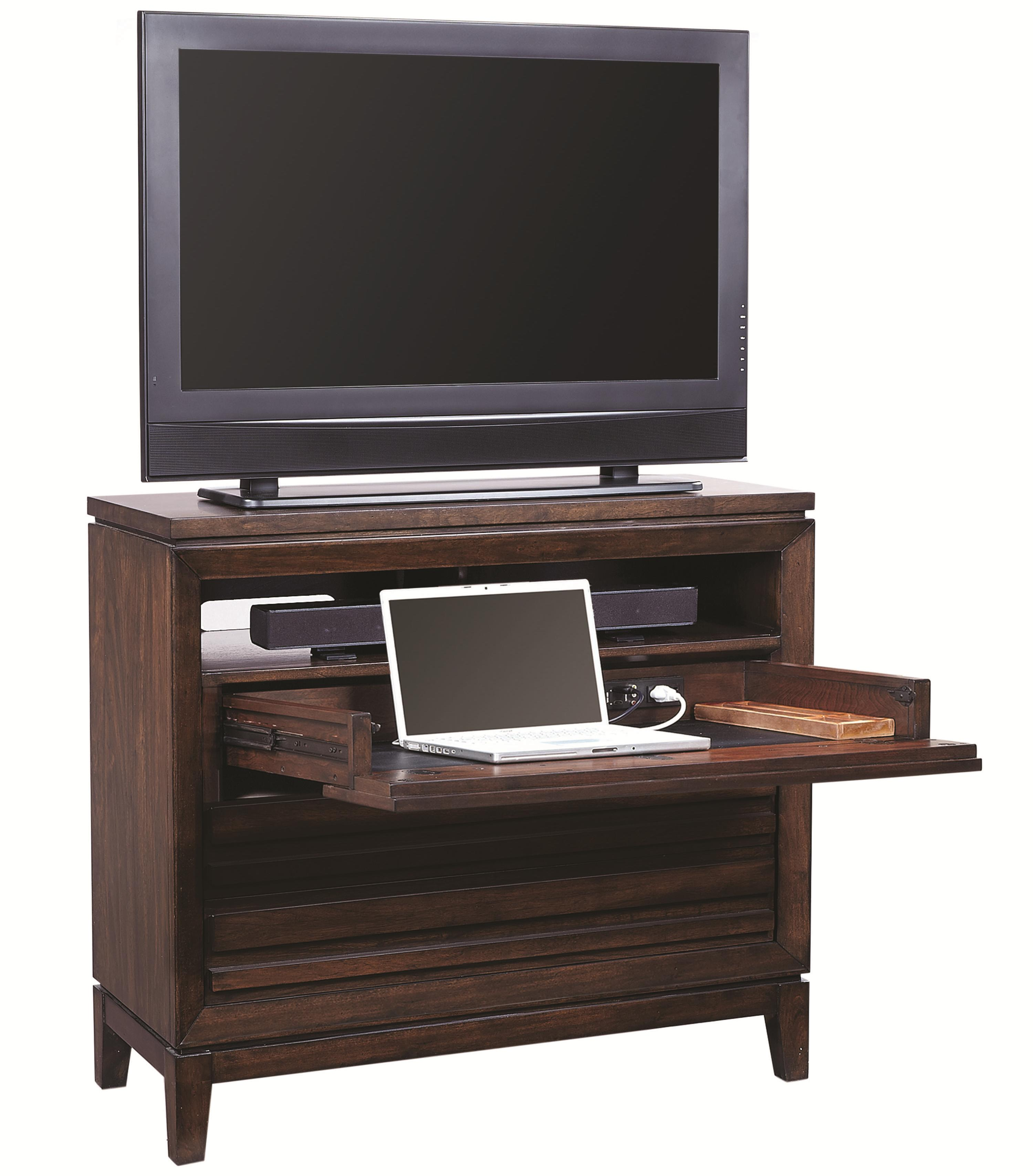 Aspenhome Walnut Park Liv360 Entertainment Chest - Item Number: I05-486