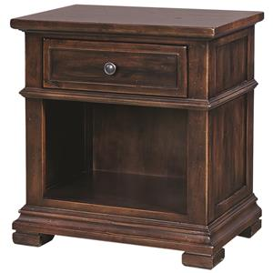 Morris Home Furnishings Westbrooke 1 Drawer Nightstand