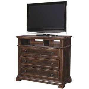 Morris Home Furnishings Westbrooke Liv360 Entertainment Chest