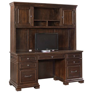 Morris Home Furnishings Birmingham Birmingham Credenza with Hutch