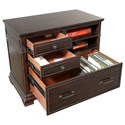 Aspenhome Weston Combo File with Shelf