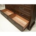 Aspenhome Weston 9 Drawer Dresser with Jewelry Tray