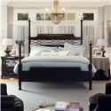 Morris Home Furnishings Youngstown Queen Chesapeake Headboard - Shown with High Posts