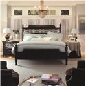 Morris Home Furnishings Youngstown King-Size Chesapeake Poster Bed - Shown with Finials Only (Short Way)