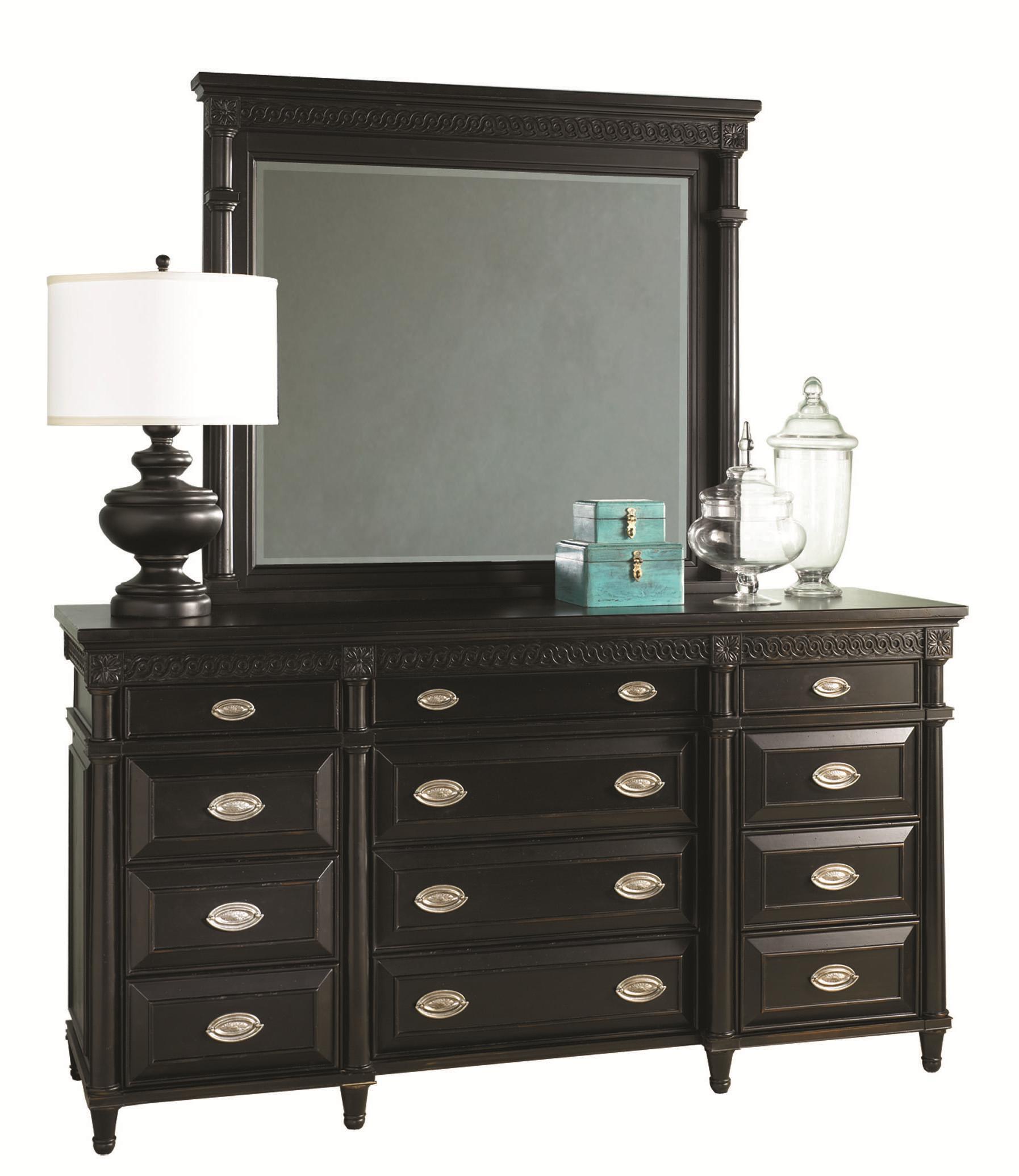 Aspenhome Young Classics Master Dresser & Mirror - Item Number: I88-453+462