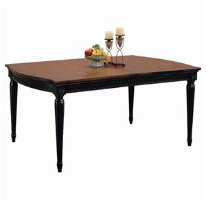 Morris Home Furnishings Youngstown Chesapeake Leg Table