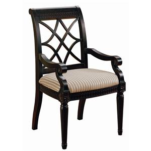Morris Home Furnishings Youngstown Dining Arm Chair