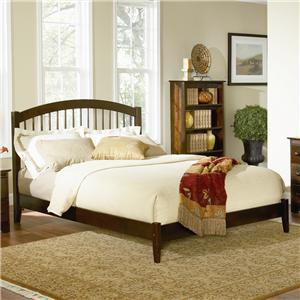 Full Size Eco Friendly Windsor Platform Bed
