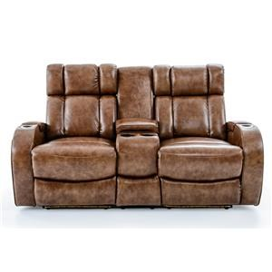 Ausen AS4061 Power Reclining Loveseat