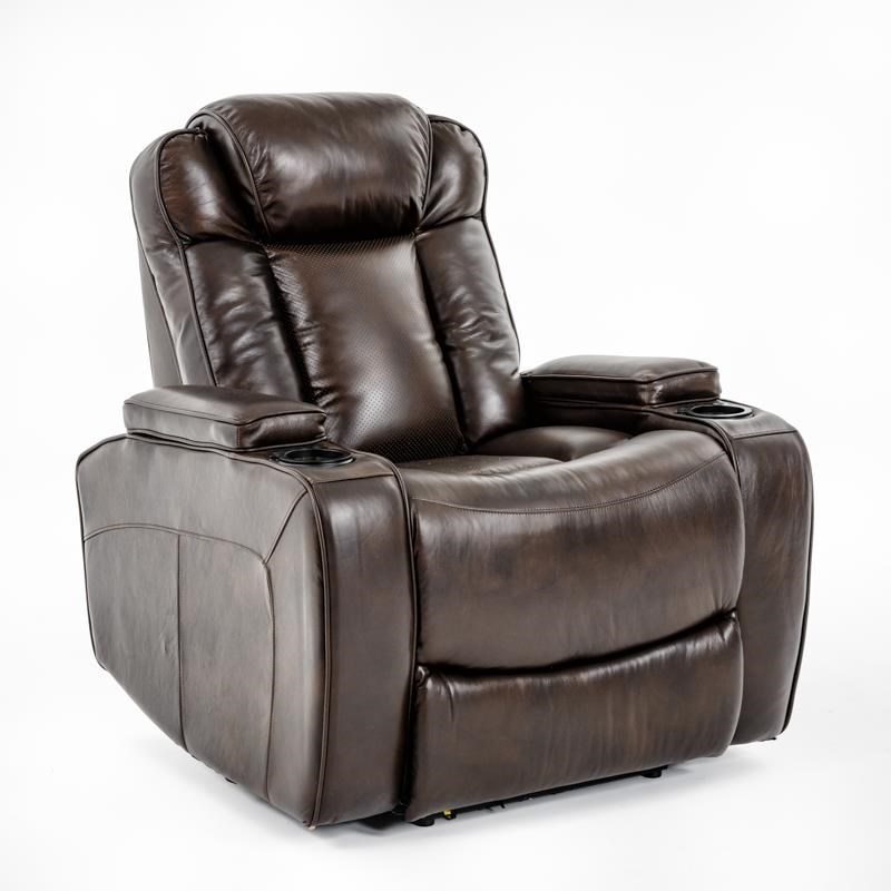 Ausen AS4062 Power Recliner - Item Number: AS4062-3906 PWR RECL