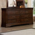 Austin Group Marseille Dresser - Item Number: 329-10-CHR