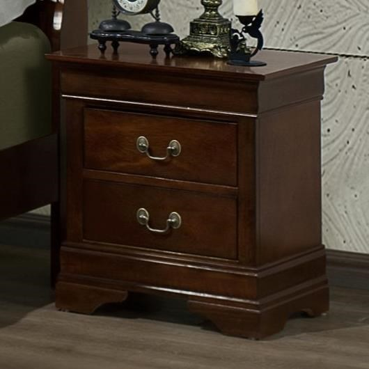 Austin Group Marseille Night Stand - Item Number: 329-20-CHR