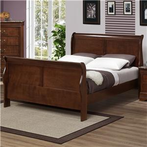 Austin Group Marseille Queen Sleigh Bed
