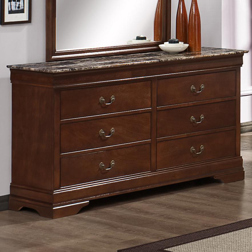 Austin Group Marseille Dresser - Item Number: 329M-10-CHR