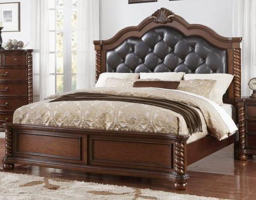 611 Montarosa King Size Upholstered Bed by Austin Group at Furniture Fair - North Carolina