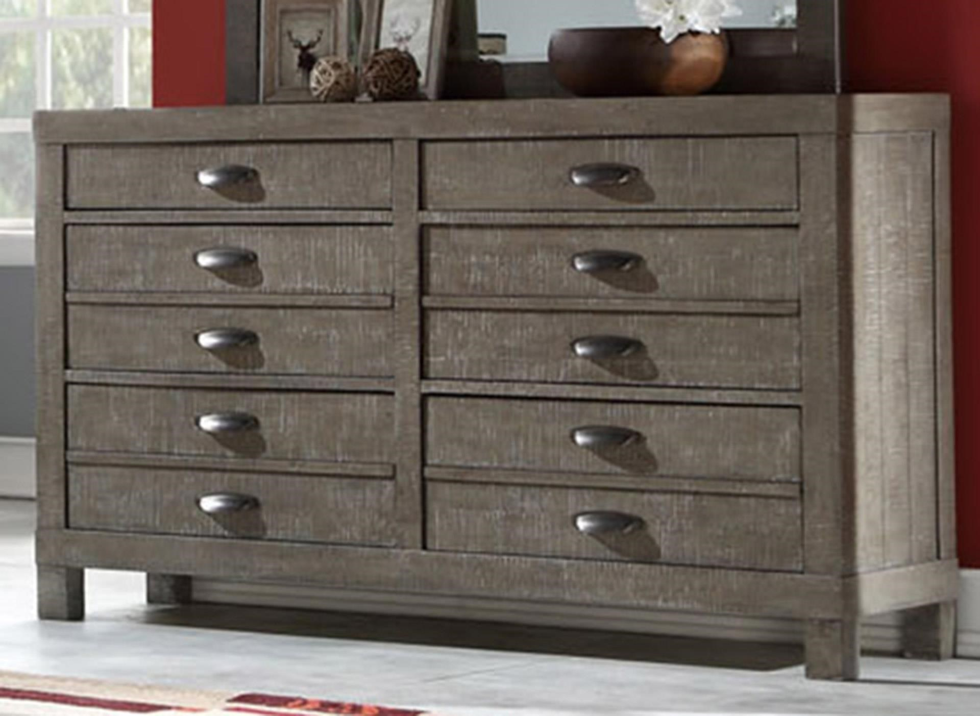 Dresser with Hidden Jewelry Drawer