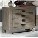 Austin Group Townsend Nightstand with Wireless Charger & USB Port - Item Number: 751-20