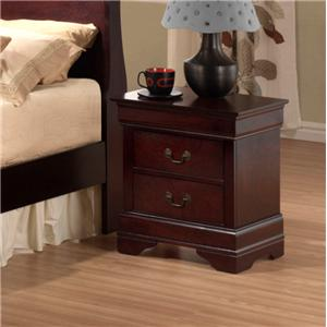 Austin Group Bordeaux  Bordeaux Nightstand