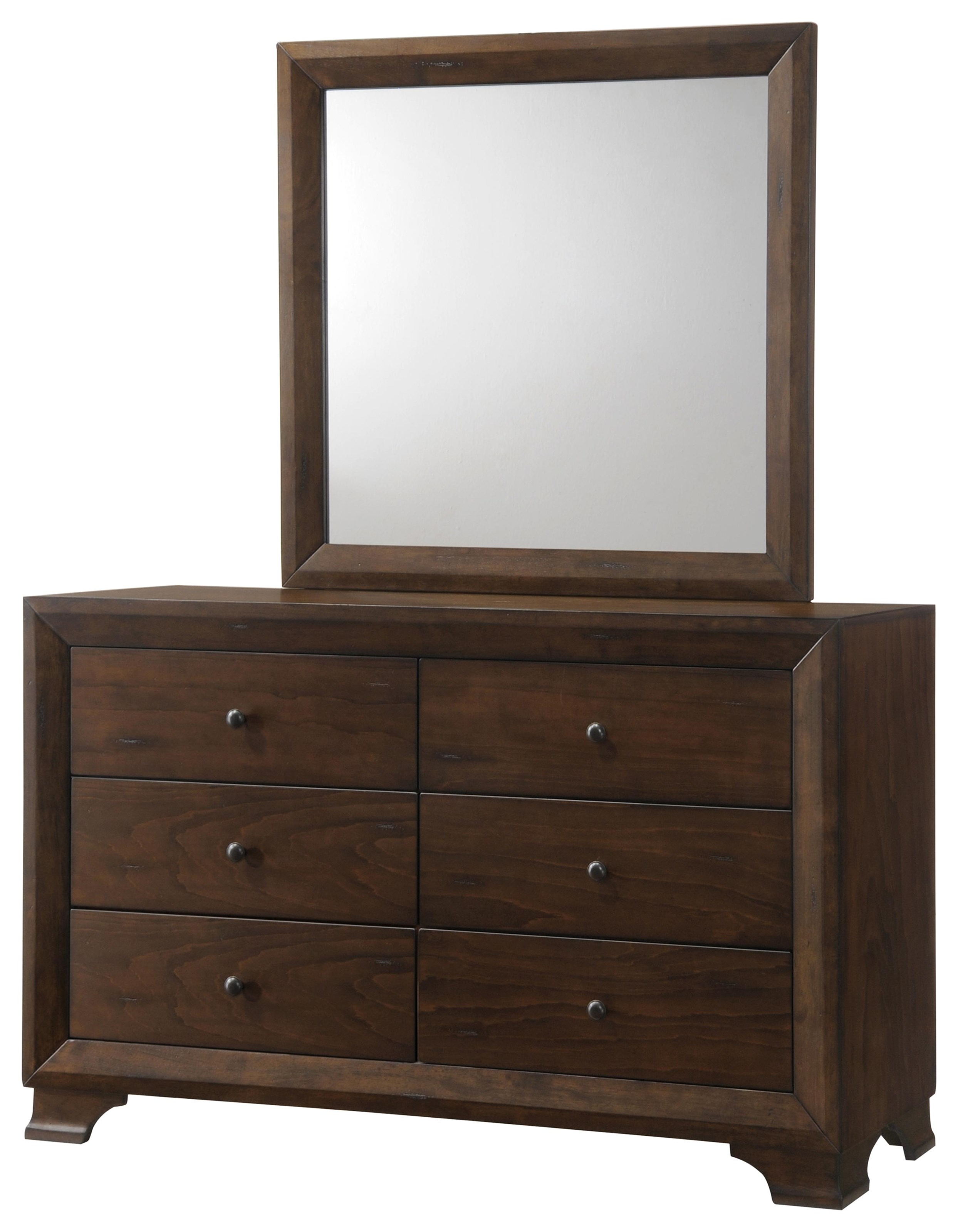Collins MIRROR by Austin Group at Standard Furniture