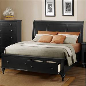 Austin Group Eastlake Full Panel Bed