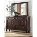 Austin Group Harrison 7 Drawer Dresser - Item Number: AUGR-790-10